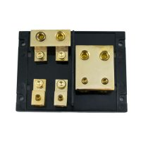 Mini ANL Power Block, Fuse Block 2 Input To 2 Output Fuse