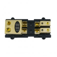 .Block 1*0AWG,1*2AWG TO 2*4AWG With Voltage Meter (No Fuse)