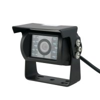 CCD Waterproof Rearview Camera with Bracket 18 IR