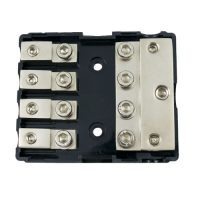 Mini ANL 3 In to 4 Out Fuse Black