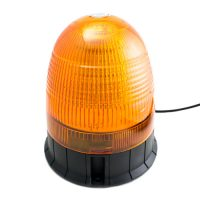 SMD5050 LED Strobe/Rotate Light 12-24V Magnet-Amber
