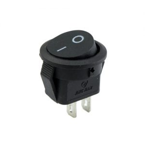 On- Off Round Rocker Switch (Small)