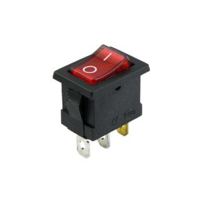 On-Off Mini Rocker Switch (RED)