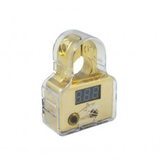 2*4AWG, 2*8AWG Battery Terminal With Digital Voltage Meter (+)