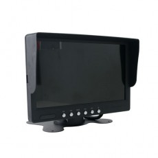 "LCD Monitor-7"" Stand 4 Channel"