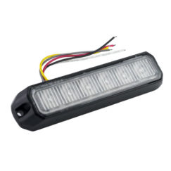 6LEDX1W STROBE LIGHT 12-24V (SMALL) | Singtech