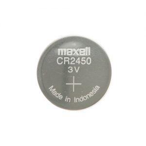 CR2450 MAXELL CELL 3V