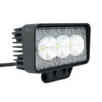 "3"" 9W LED Square Flood Worklight"