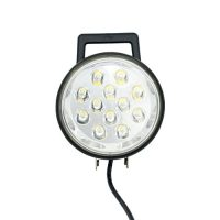 "6"" Round Flood Light (12 LED 36W) With Switch"