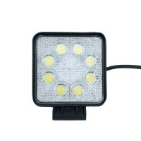 "5"" 24W SQ FLOOD LIGHT (8LED) 10-30V"