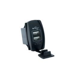 Dual USB Socket With LED 3.1V 5V input
