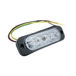 4 LED Strobe Light (12V-30V) 101x32mm