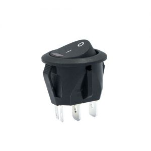 On-Off Round Rocker Switch (LED)