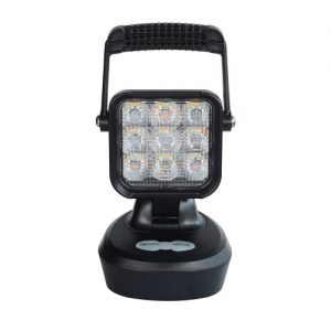 Rechargeable 9 LED Super Bright Work Light (Magnetic Base)