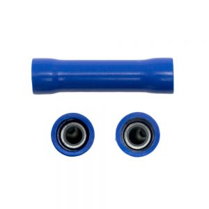Vinyl Insulated Butt Splice Connector - Blue Link