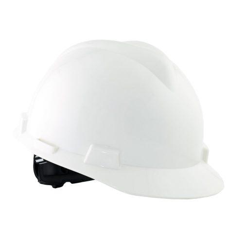 Safety Helmet MSA V Guard ABS - White