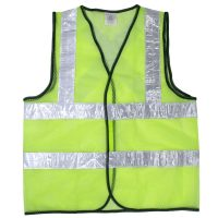 Safety Vest (Green/White) | Singtech YSH Road and Construction Safety Equipment in Singapore